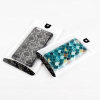 coloridos cables de cargador de iphone al por mayor-Bolsas para paquetes al por menor para la caja del teléfono para iPhone 8 Plus Bolsa de empaque personalizada de lujo para iPhone X XS Max XR Funda
