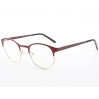 efd48d96d97 Stylish Round Vintage Women Optical Metal Glasses Cat Eye Glasses Frames  Prescription Myopia Spectacle Frames
