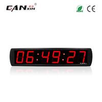 parede de contagem regressiva digital venda por atacado-[GANXIN] 4 '' temporizador digital programável relógios de parede decoração da casa Levou relógio temporizador de contagem regressiva