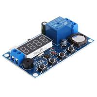verzögerungsrelaismodul großhandel-12V 24V Zyklusverzögerungsmodul Zyklusrelais-Schaltermodul 24H-Timing-Chip-Steuerung Neue Clock-Synchronisationszeit-Steuerungsverzögerung