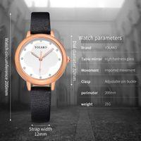 сплошные часы оптовых- woman solid color belt watches Women Fashion Color Strap Digital Dial Leather Band Quartz Analog Wrist Watches