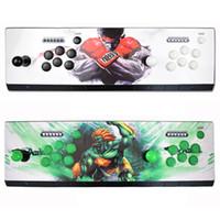 Pandora Box 6 1300 in 1 game arcade console usb joystick arcade buttons with light 1 player 2 players control retro arcade game box