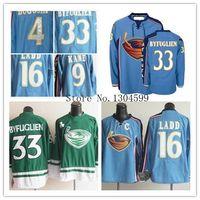 Wholesale Sewing Letters - Factory Outlet, Atlanta Thrashers #33 Dustin Byfuglien jersey 9 Evander Kane 16 Ladd jerseys - Sewn on letters Byfuglien Stitched jersey