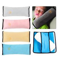almohada atada al por mayor-Correa de cinturón de seguridad para automóvil Correa de cinturón de seguridad para el hombro Protector para niños Protector de almohada para dormir Cojín para dormir