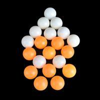 ingrosso palline da tennis di colore giallo-10Pcs For Competition Training BallPong Balls 40mm Diameter Yellow White Tavolo da ping pong professionale