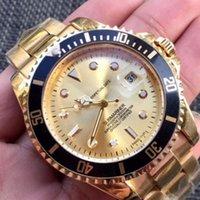negócios automáticos venda por atacado-2018AAA marca De Luxo relógio Homens Safira espelho de Aço Inoxidável movimento Automático Moda mens Relógios mestre Qualidade de Negócios relógio de Pulso.