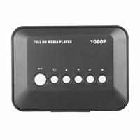 rm medya toptan satış-1080 P HD Medya oynatıcı SD / MMC Video SD MMC RMVB MP3 Çok TV USB HDMI Media Player Kutusu Desteği USB Sabit Disk sürücüsü