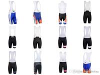 babero de ciclismo pantalones cortos al por mayor-RABOBANK RAPHA team bib shorts nuevos 2018 de alta calidad de secado rápido para hombres Ropa de Bicicletas Ropa Ciclismo Tamaño XS-4XL C2809