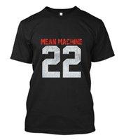 ingrosso cantiere art-New Mean Machine 22 The Longest Yard Movie Arti marziali Lotta T Shirt Taglia S - 3xl Unisex Più taglie e colori Maglietta allentata