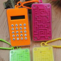 Wholesale hot new office supplies for sale - Group buy NOYOKERE Hot Sale New Student Mini Electronic Calculator Candy Color Calculating Office Supplies Gift Super small