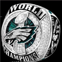 Wholesale 2018 The Newest High quality Philadelphia Eagle s LII World Championship Ring Fan Gift Drop Shipping AAA
