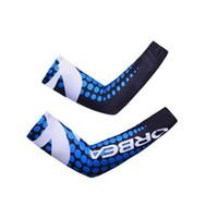 ingrosso protezione delle moto-ORBEA Nuova bici Protezione solare Copri bracciale Manicotti MTB Bicicletta Sport Guanti scaldamuscoli G1041