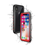 Wholesale Snow Proof - Redpepper Dot Waterproof Case for iphone X Drop proof Snow Proof Case for iphone X DHL Free