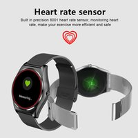Wholesale mp4 glasses - 2018 New N3 Smart Watch Wrist Bluetooth Fashion New Camera Heart Rate For iOS Android Support MP3 MP4 local playing