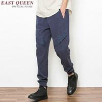 Wholesale chinese men uniform online - Traditional chinese clothing chinese traditional clothes for men oriental mens clothing kung fu uniform men pants KK638 W
