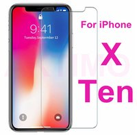 Wholesale Phone Films - For iphone X 8 HD Clear Explosion-proof 0.2MM Ultra Thin Tempered Glass Screen Protector For iPhone 5 5C 5S Phone Protective Film