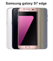 teléfonos android solo sim al por mayor-Reacondicionado Original Samsung Galaxy S7 Edge G935A G935T G935P G935V G935F Teléfono celular desbloqueado 5.5