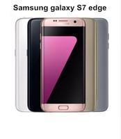 samsung galaxy 4g venda por atacado-Recondicionado Original Samsung Galaxy S7 Edge G935A G935T G935P G935V G935F Celular desbloqueado 5.5