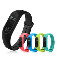Wholesale oxygen white - Original M2 Smart wrist Band R5 PRO Heart rate Blood Pressure Oxygen Oximeter Sport Bracelet Watch intelligent For iOS Android