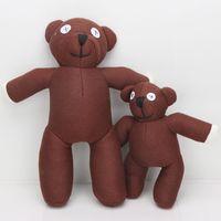 brinquedo de feijão venda por atacado-25 cm / 35 cm Bonito Senhor Feijão TEDDY URSO de Pelúcia Brinquedo de Pelúcia boneca crianças brinquedos de presente de natal