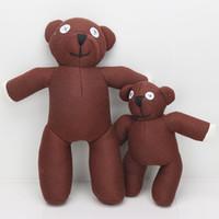 sr juguetes de frijol al por mayor-25 cm / 35 cm Lindo Mr Bean TEDDY BEAR Juguete de Peluche Muñeca de peluche juguetes para niños regalo de navidad