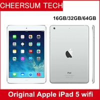 """Wholesale genuine apple accessories - 2017 Refurbished iPad Air Genuine Apple iPad 16GB 32GB 64GB Wifi iPad 5 Tablet PC 9.7"""" Retina Display IOS A7 refurbished Tablets DHL"""