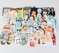 Door laptop for windows - 35Pcs Rick and Morty Funny Sticker Decal For Car Laptop Bicycle Motorcycle Notebook Waterproof Stickers toys