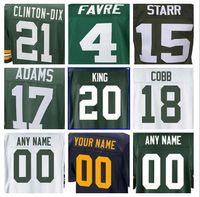 Wholesale packers green - Green Clay Bay Matthews Packer jersey Ha Ha Clinton-Dix Brett Favre Randall Cobb Kevin King Davante Adams american football jerseys cheap