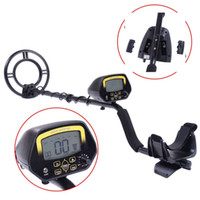 Wholesale gold silver detectors - MD-3030 underground metal detector revealer gold silver coins outdoor underground treasure metal detector detector