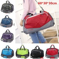 Wholesale luggage nylon for sale - Group buy U A Travel Duffle Bag Fitness Gym Sports Hand Bag Tote Under Waterproof Nylon Shoulder Bags Large Capacity Luggage Bag Baggage Bags B71305