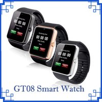 Wholesale Kids I - 2018 GT08 Bluetooth Smart Watch Watches SIM Mini Phone Anti-lost for IOS i Phone 6s 7 8 Plus X Android Phones by DHL