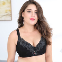 078ec6d88 D E cup Lace Push Up bra for Plus Size Women 44 46 48 50 Women Large Cup  Bras Brassiere