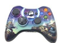 juegos al por mayor-Controlador inalámbrico Gamepad para XBOX 360 Joystick para oficial Microsoft Win8 XBOX Game Controller entrega gratuita por correo