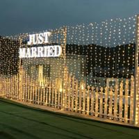 evlilik aydınlatması toptan satış-Çok fonksiyonlu Bırak Süsler Noel Dekor Düğün Romantik Evlilik Için 10 m Led Aydınlatma Su Geçirmez Dize Peri Işıkları