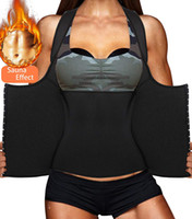 Wholesale slimming weight sauna for sale - Group buy Hot Fashion Womens Shapewear Weight Loss Neoprene Sauna Sweat Waist Trainer Corset Tank Top Vest Sport Workout Slimming Body Shaper Sweat