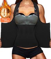 tanques de tanques ponderados venda por atacado-Hot Moda Womens Shapewear Perda De Peso Neoprene Sauna Suor Trainer Cintura Espartilho Top Colete Esporte Treino Slimming Shaper Do Corpo Suor