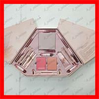 ingrosso grandi palette ombretto-Lo voglio tutto Makeup Set 21 in 1 Pink Collection Makeup Big Box INTERNATIONAL lucidalabbra, blush Bronzo Eyeshadow Palette set da trucco