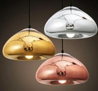 Wholesale Glass Ball Pendant Light Fixture - Modern Pendant Lights Globe Glass Ball Lampshade Pendant Lamp Kitchen Hanging Light Fixture Lustre de Led Ceiling luminaire