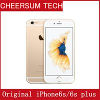 Wholesale iphone6s plus phones for sale - Original Unlocked Apple iPhone6s iPhone s Plus with TOUCH MP Camera Cell Phone IPS GB RAM GB ROM IOS LTE