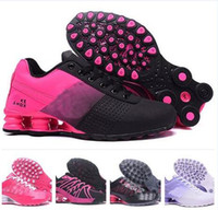 Wholesale Cheap Black Athletic Shoes - Cheap Women Running Shoes Air Avenue 802 080 Fashion Leather Shox Chaussure Homme Breathable Athletic Outdoor Sneakers tennis shoes