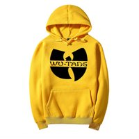 Wholesale Men S Dress Hats - Winter Dress Classic Style Wu Tang Band Printed Hoody Sweatshirts With Hat Sportswear Hip Hop Clothing men's Hoodies Tracksuit 04
