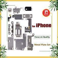 Wholesale body holder - For iPhone 5 5S SE 5C 6 6P 6S 6S Plus 7G 7 plus Full Body Inner Small Holder Bracket Shield Plate Metal Iron Body Parts Set Kit