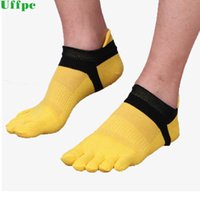 фирменные летние носки оптовых-10pieces=5pairs=1lot New  Five Finger Socks Summer Coon Sock Mens Casual Toe Breathable Calcetines Ankle Socks for Men