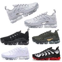 55046ac92ed60 Wholesale tn air shoes online - Air TN Plus Running Shoes Men Outdoor Run  Shoes Black