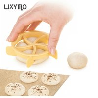 Wholesale cookies stamp for sale - Group buy 1pc Bread Rolls Mold Fan Shaped Pastry Cutter Dough Cookie Press Bread Cake Biscuit Stamp Moulds Kitchen Pastry Baking Tools