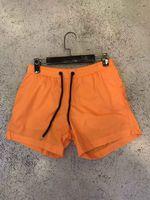 Wholesale blue linen pants - M517 Men Shorts twill printed leisure sports men hight quality Beach pants Swimwear Bermuda Male Letter Surf Life Men Swim