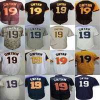 Wholesale womens camo shorts xl - 2016 Ne San Diego 19 Tony Gwynn Mens Womens Kids Toddlers Beige Blue Brown Camo Grey White CoolBase Flexbase Cheap Baseball Jerseys