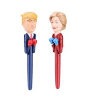Wholesale talking pen resale online - The Candidate Smack Talking Collectible Boxing Pen set USA President Trump Pens Intelligent Decompression Toys Pen Fancy Birthday Gift