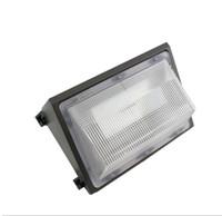 geleneksel lambalar toptan satış-LED Duvar Paketi Işıkları 60 W 80 W Dış Duvar Monteli Endüstriyel Işık Meanwell UL ETL SAA CE Eşit 600 W Geleneksel Wallpack Lamba