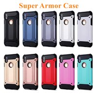 Wholesale iphone 5s cases silicone - For iPhone X 8 7 Plus Case Hybrid Armor Case For iPhone 6 6s Plus Super Protection Cover for iPhone 5 5s se